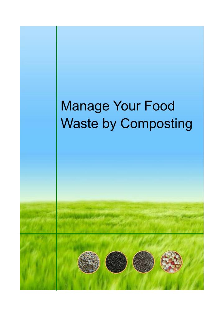Manage Your Food