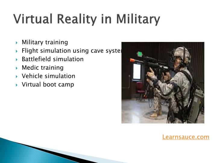 Virtual Reality in Military