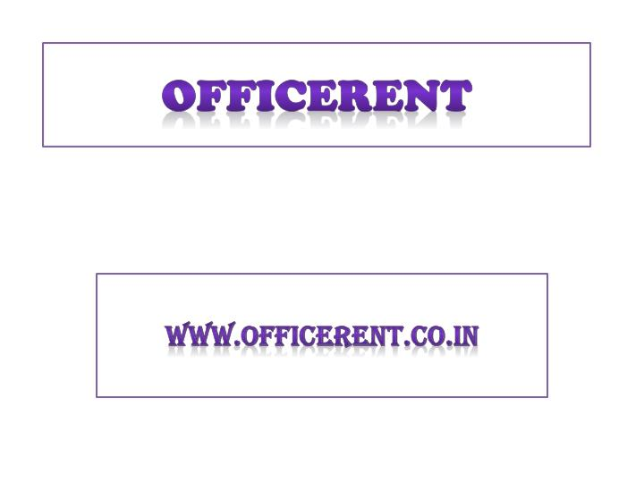 Officerent