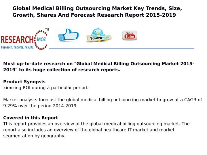 Global Medical Billing Outsourcing Market Key Trends, Size,