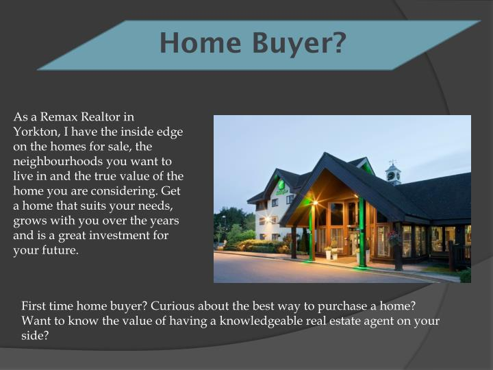 Home Buyer?