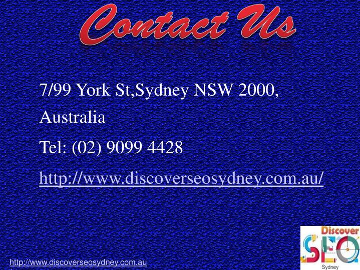 7/99 York St,Sydney NSW 2000,