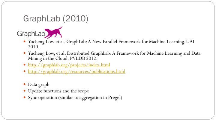 GraphLab (2010)