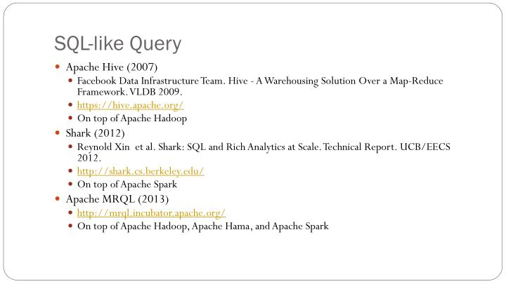 SQL-like Query