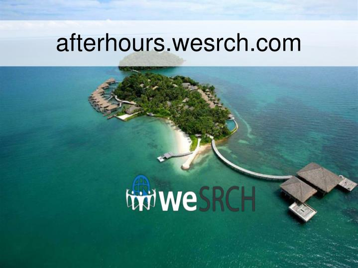 afterhours.wesrch.com