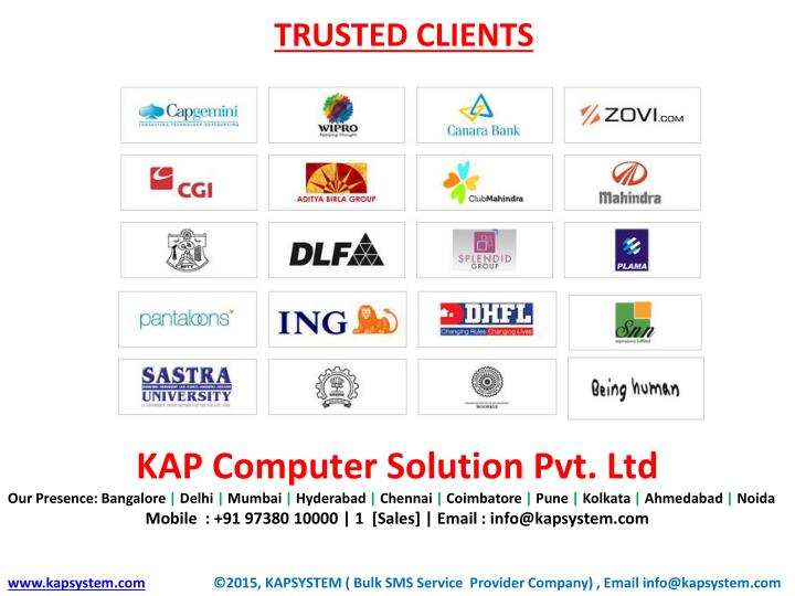 TRUSTED CLIENTS