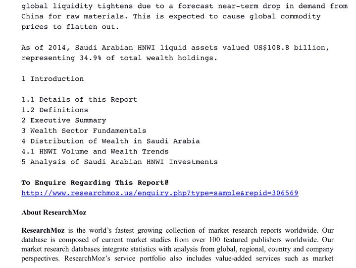 globalliquiditytightensduetoaforecastneartermdropindemandfrom