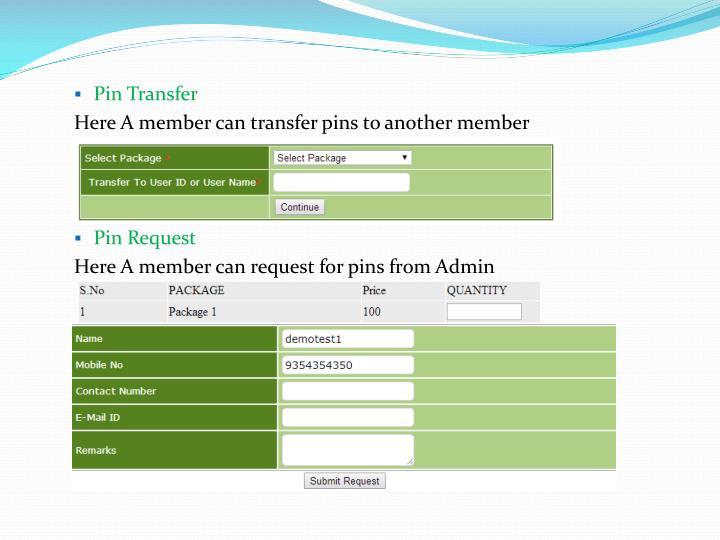 Pin Transfer