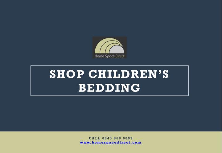 SHOP CHILDREN'S