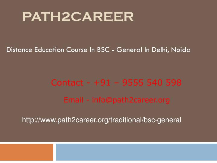 Path2career