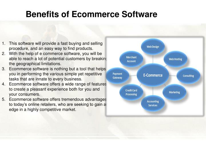 Benefits of Ecommerce Software
