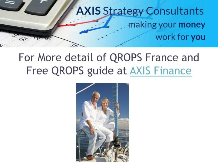 For More detail of QROPS