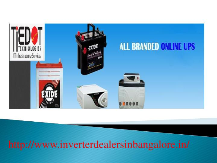 Http://www.inverterdealersinbangalore.in/