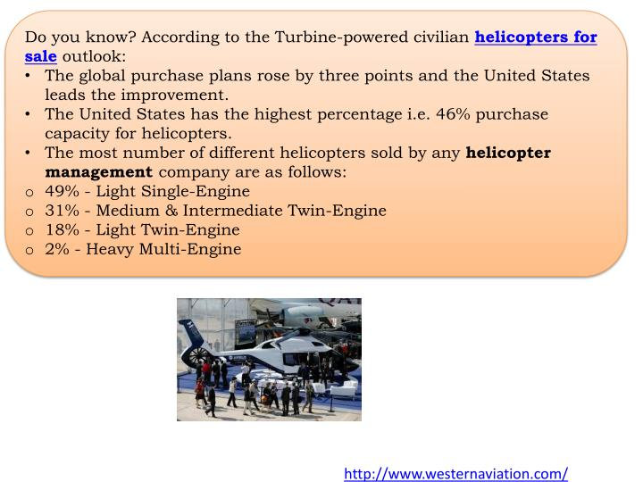 Do you know? According to the Turbine-powered civilian