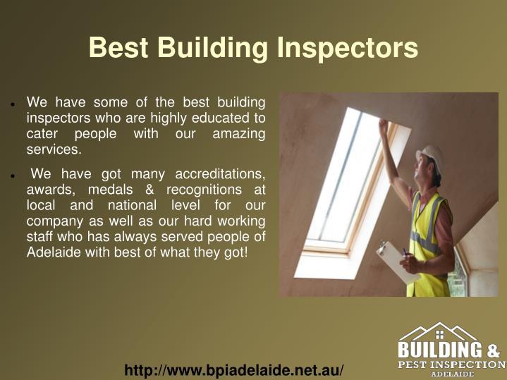 Best Building Inspectors