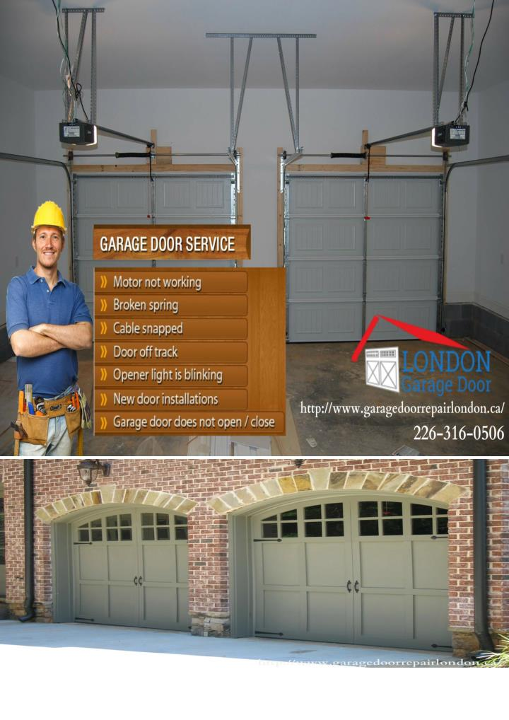 London garage door installation maintenance and repair services