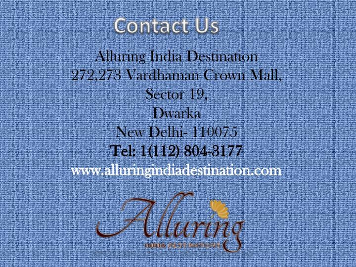 Alluring India Destination