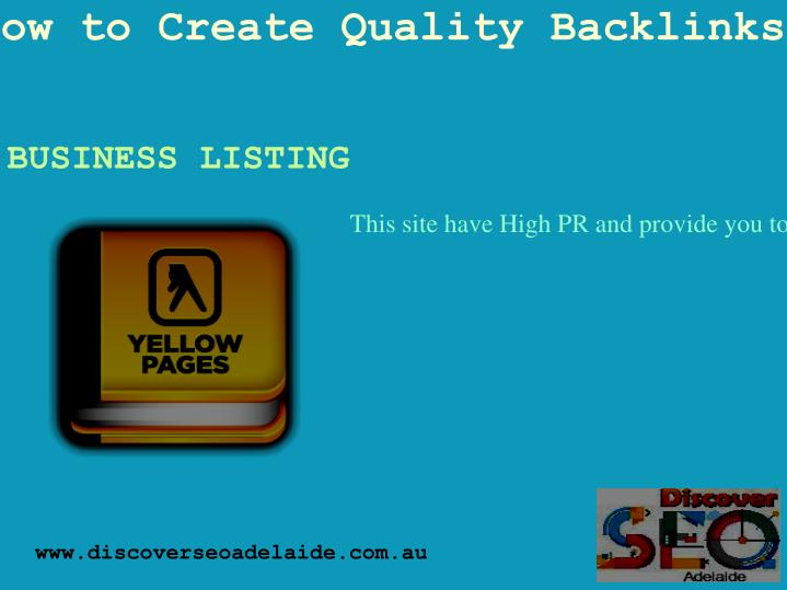 How to Create Quality Backlinks?