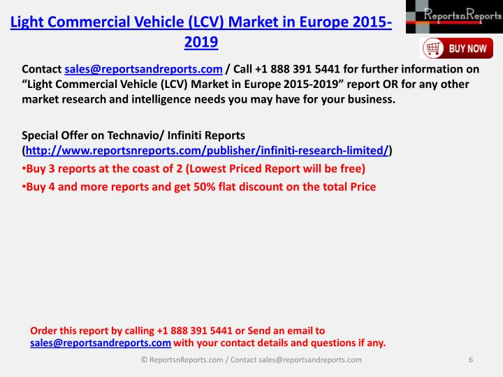 Light Commercial Vehicle (LCV) Market in Europe 2015-