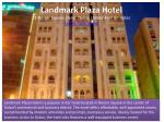 landmark plaza hotel 23 nasser square deira dubai united arab emirates luxury hotel dubai
