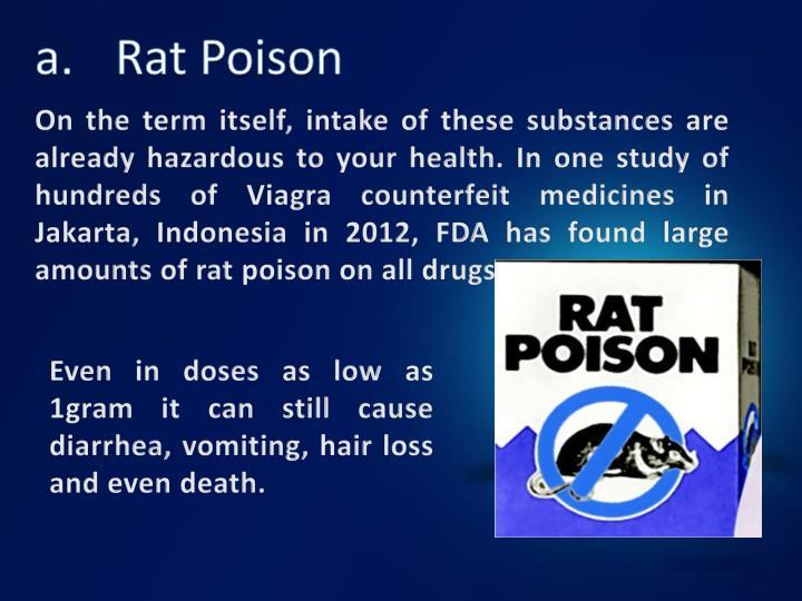 a.Rat Poison