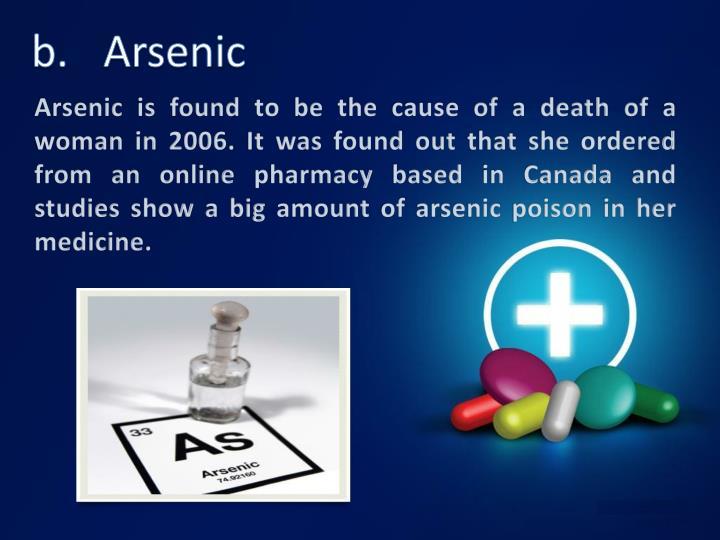 b.Arsenic