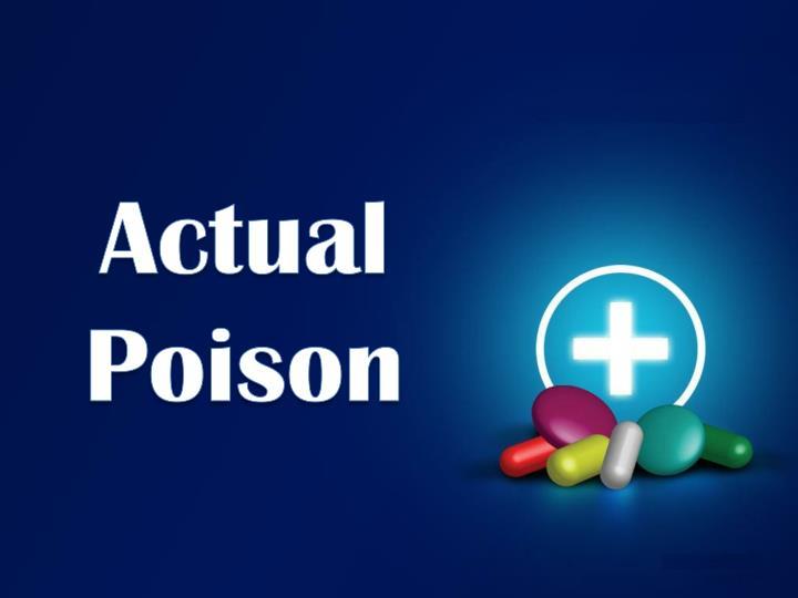 Actual Poison