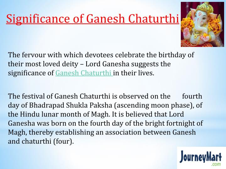 Significance of Ganesh