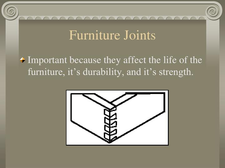 Furniture Joints