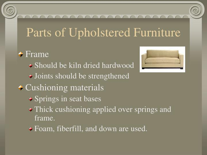 Parts of Upholstered Furniture