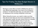 tips for finding the best budget movers in melbourne1