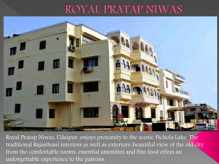 Royal pratap niwas