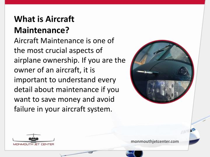 What is Aircraft Maintenance?