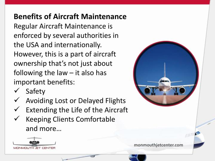 Benefits of Aircraft Maintenance