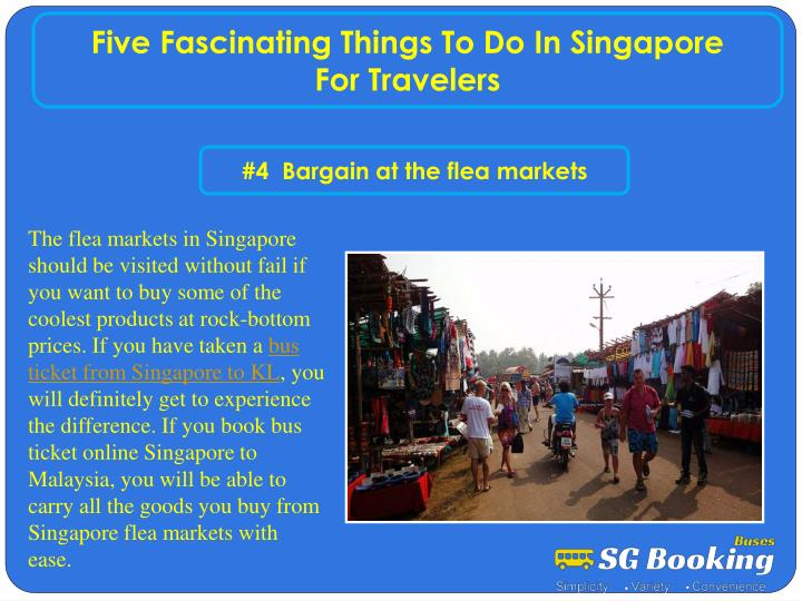 Five Fascinating Things To Do In Singapore