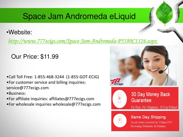 Space Jam Andromeda eLiquid