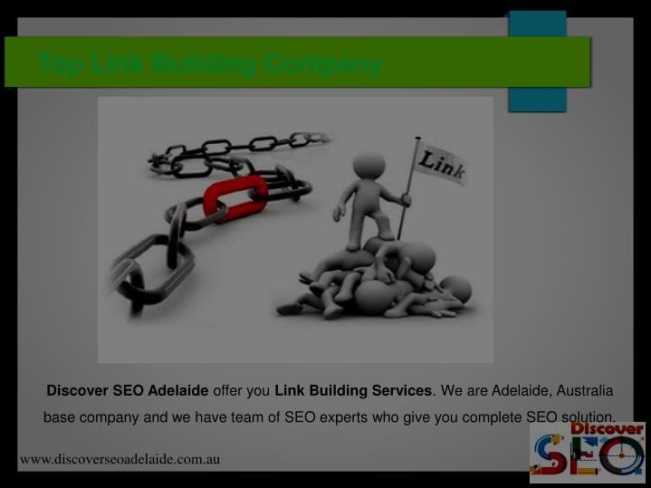 Top link building company