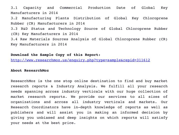 3.1  Capacity  and  Commercial  Production  Date  of  Global  Key