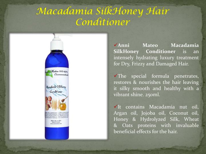 Macadamia SilkHoney Hair Conditioner
