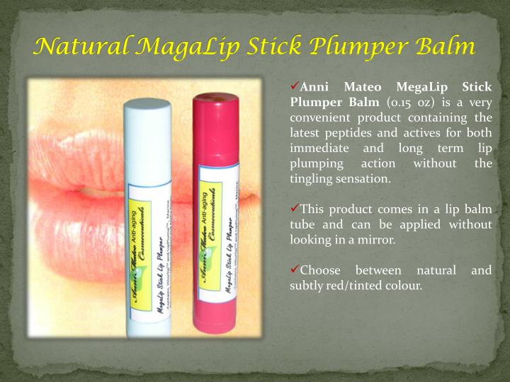 Natural MagaLip Stick Plumper Balm