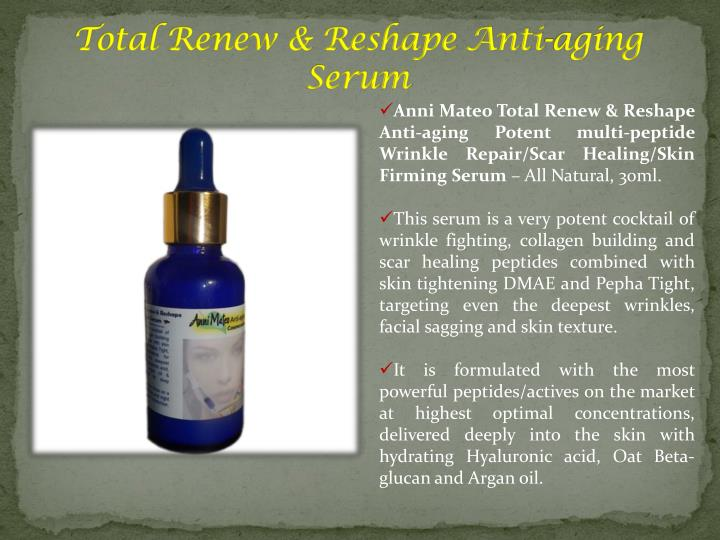 Total Renew & Reshape Anti-aging Serum