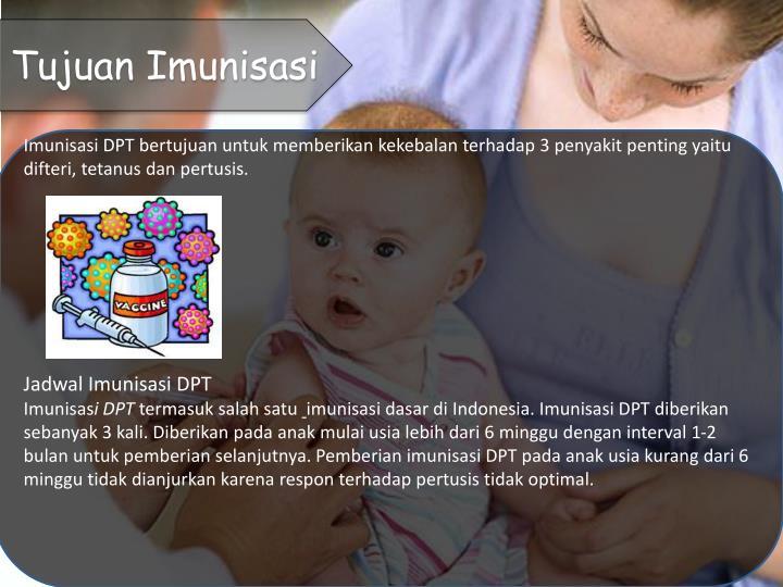 Tujuan Imunisasi