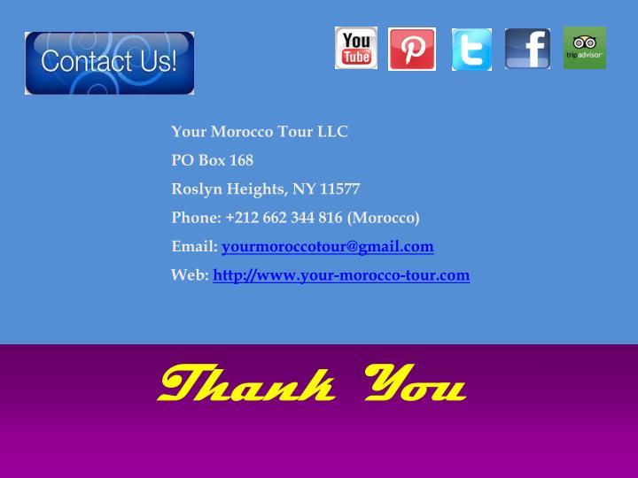 Your Morocco Tour LLC