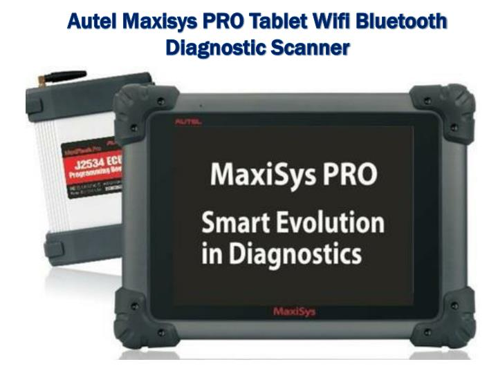 Autel Maxisys PRO Tablet Wifi Bluetooth Diagnostic Scanner