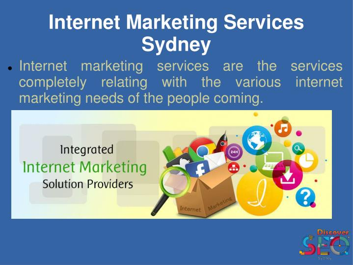 Internet Marketing Services Sydney
