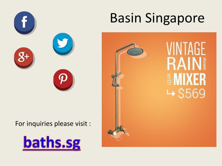 Basin Singapore