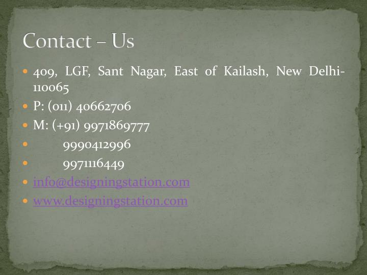 Contact – Us