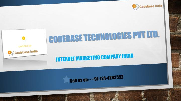 Codebase technologies pvt ltd