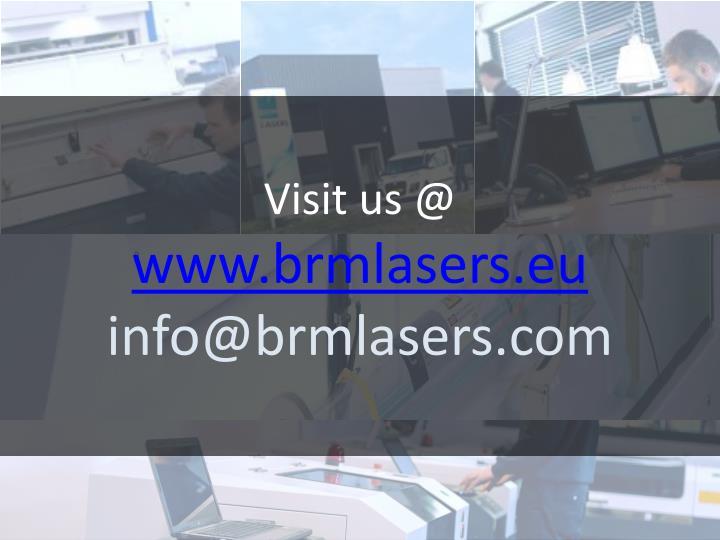 Visit us @