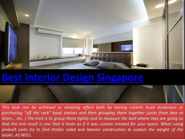 Best Interior Design Singapore